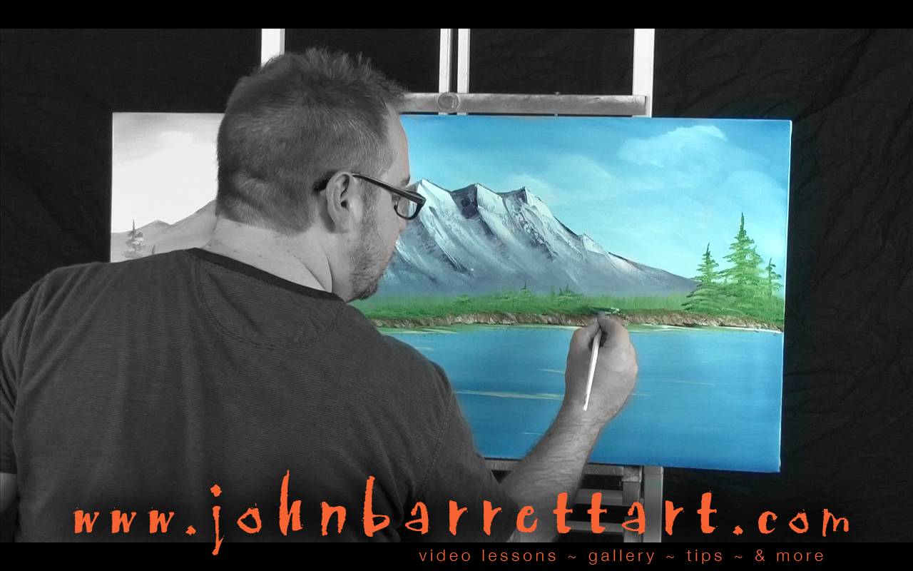 John Barrett Art Photo