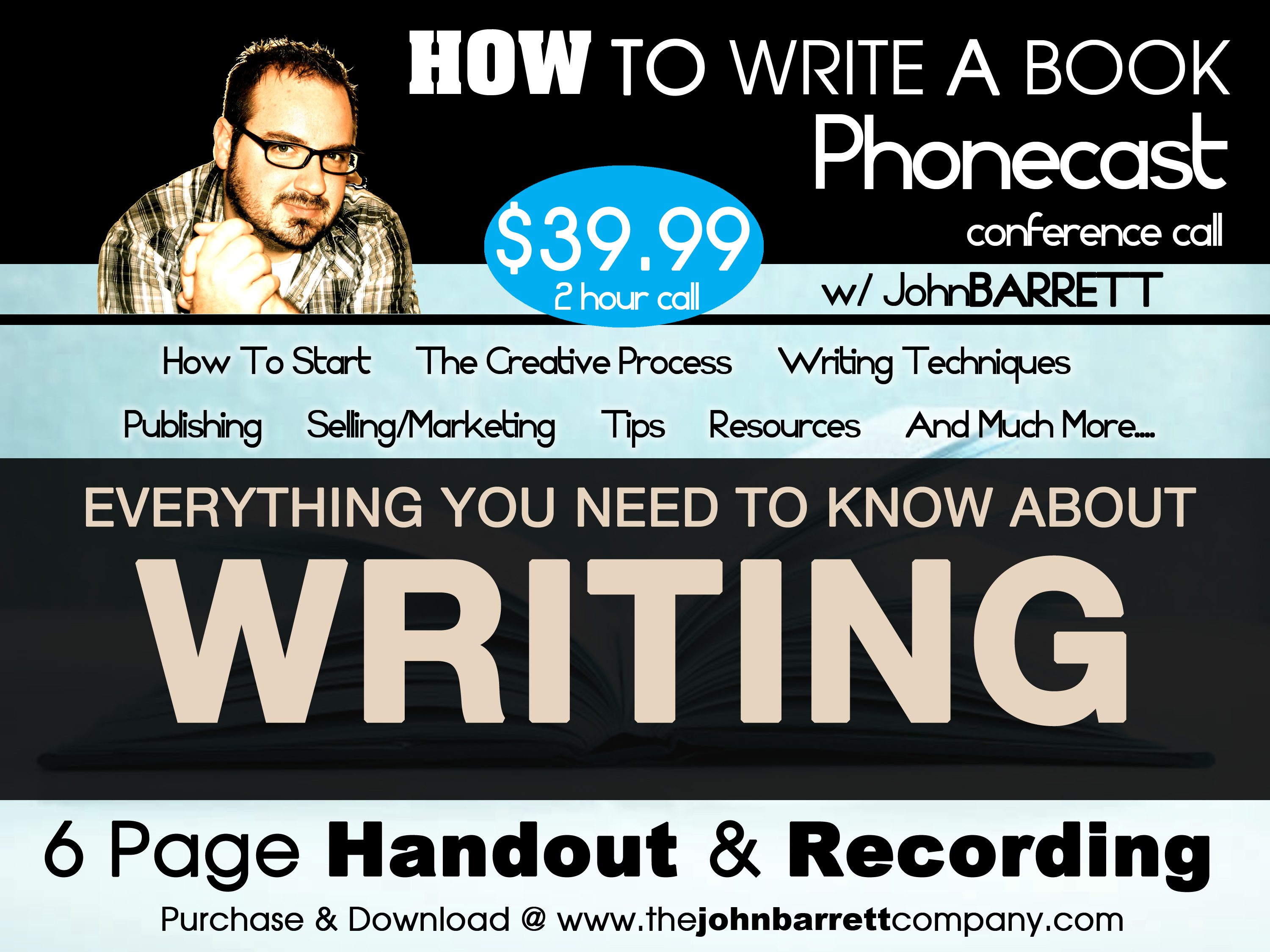 How to Write A book Package